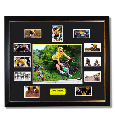 Mscsports Froome Signed Action Photo