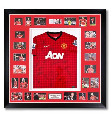 Mscsports Manchester United Signed Jersey